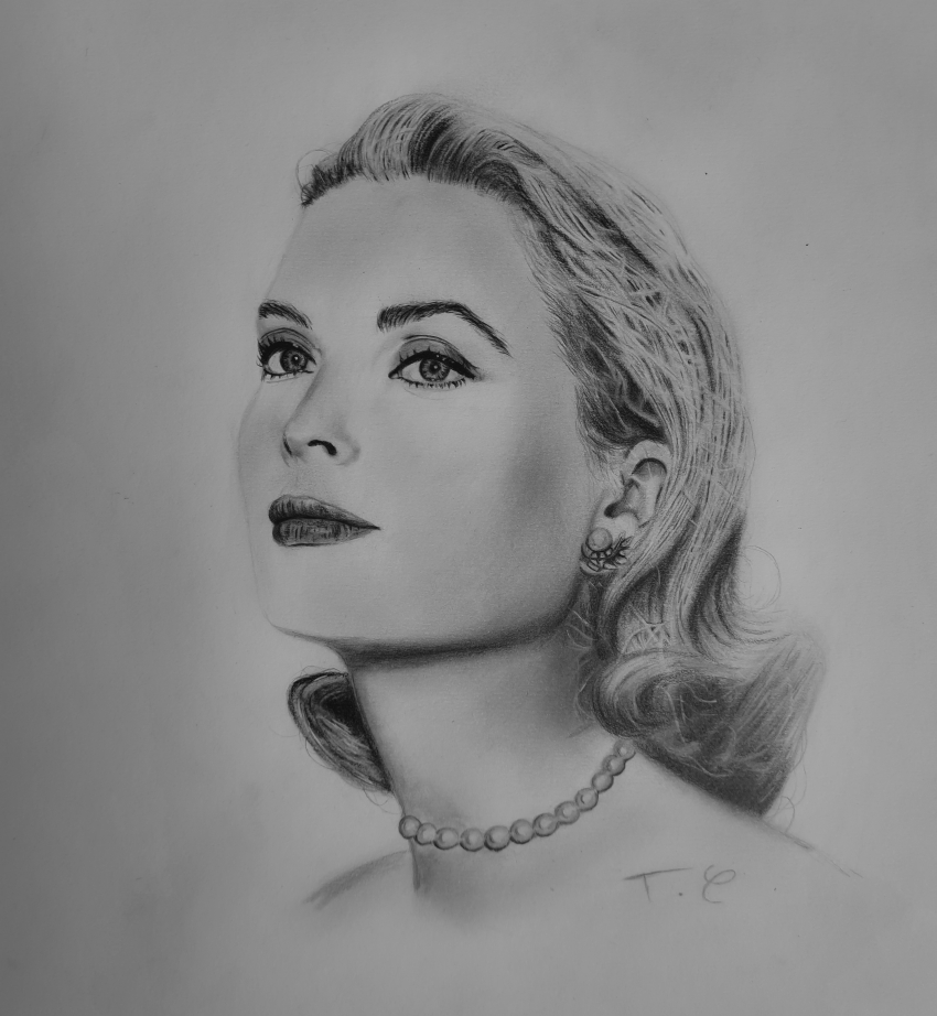 Grace Kelly by thomascdraw